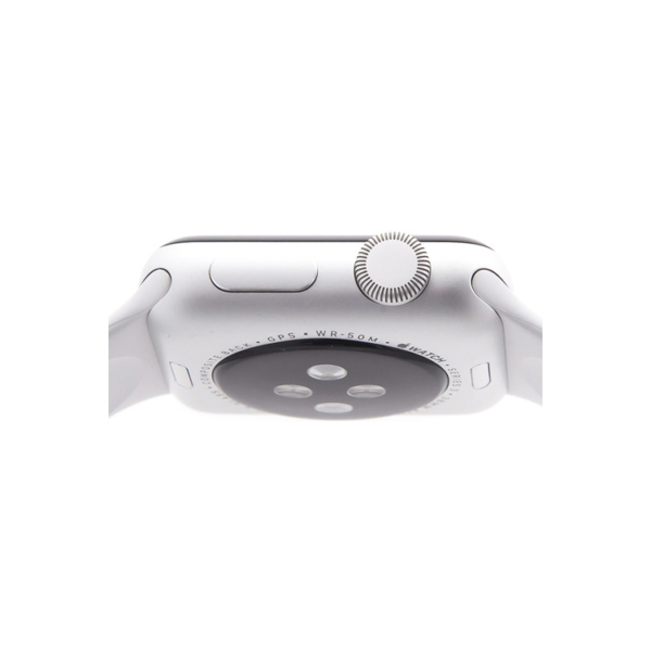 Умные часы Apple Watch S3 38mm Silver Aluminum Case with White Sport Band
