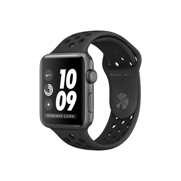 Умные часы Apple Watch S3 Nike+ 38mm Space Gray Aluminum Case with Anthracite/Black Nike Sport Band