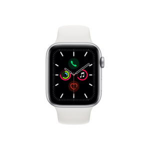 Смарт-часы Apple Watch S5 44mm Silver Sport Band (MWVD2RU/A)